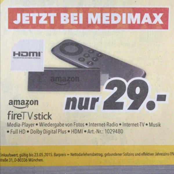 [Medimax offline] Amazon FireTV Stick für 29€
