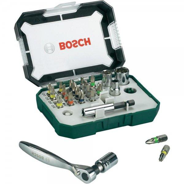 Conrad [offline] 32tlg. Bosch Bitset mit Ratsche  für 9,99€