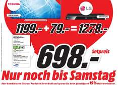 [Lokal] Mediamarkt Essen Toshiba 55Zoll + LG Bluray Player