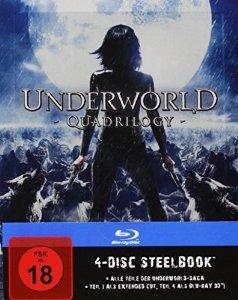 (thalia.de) Underworld 1-4 Steelbook Edition (Blu-Ray) für 25,50€