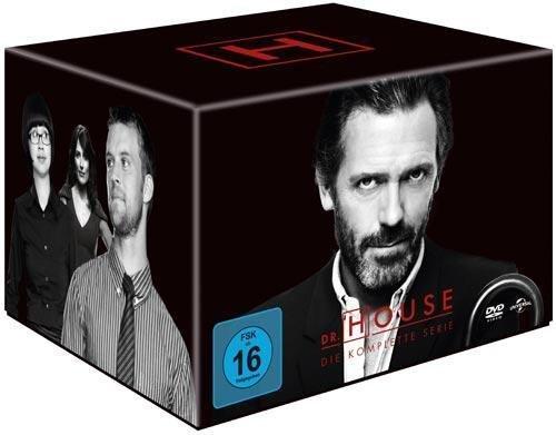 (thalia.de) Dr. House - Staffel 1-8 Gesamtbox (46 DVD´s) für 46,75€