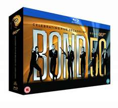 James Bond - 22 Film Collection [Blu-ray] inkl. Vsk für ~ 81 € > [amazon.uk]