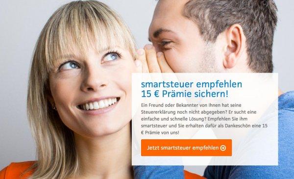 Smartsteuer kostenlos durch Freundschaftswerbung