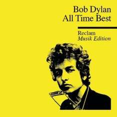 Amazon MP3 Album : Bob Dylan - All Time Best ( 18 Songs) - Nur 4,09 €