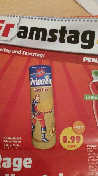 [Penny Framstag] De Beukelar Prinzen Rolle 400Gramm für 0,99€ am 22.05 und 23.05