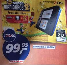 Nintendo 2DS New Super Mario Bros. 2 Special Edition (Real) Online und Lokal