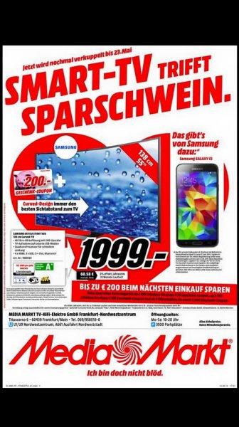 Samsung UE55JU7590 Schnapper im Media Markt Frankfurt/Nordwestzentrum