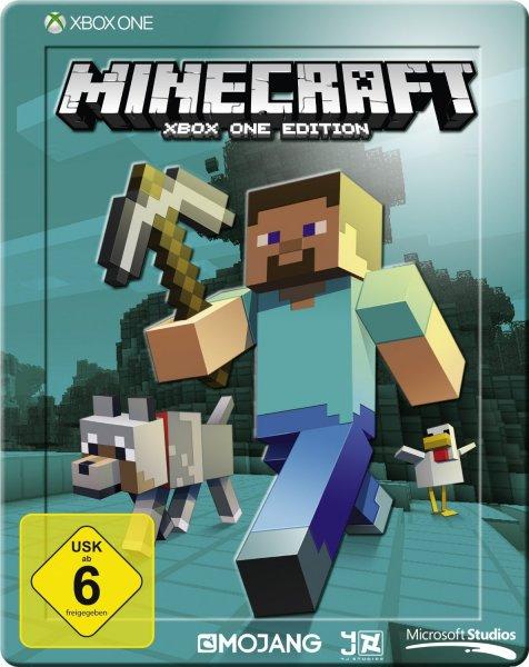 [Saturn Online] Minecraft (Steelbook-Edition) - Xbox One für 19,99 Euro, Versandkostenfrei