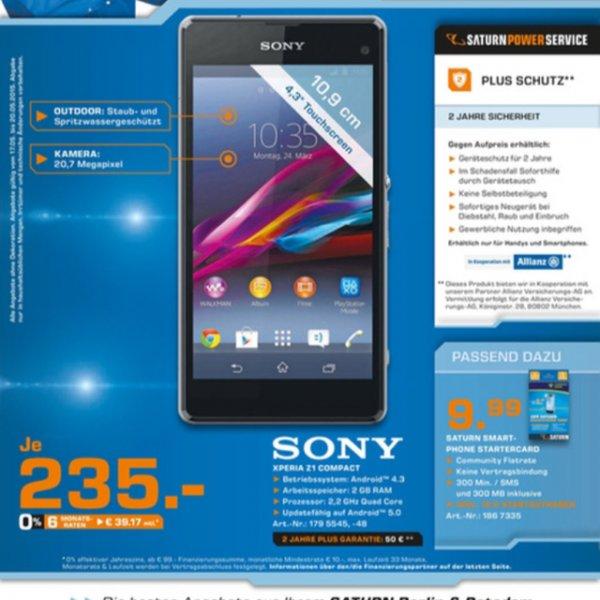 Sony xperia z1compact black