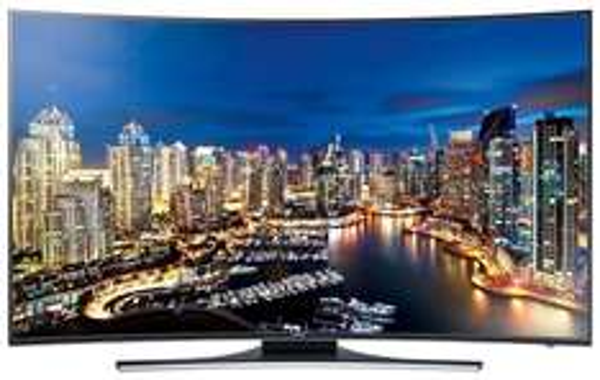 Samsung UE65HU7200 163 cm (65 Zoll) Curved LED-Backlight-Fernseher (Ultra HD, 800Hz CMR, DVB-T/C/S2, CI+, WLAN, Smart TV, HbbTV, Sprachsteuerung für 1869,00€ inkl. Versand @Saturn.de