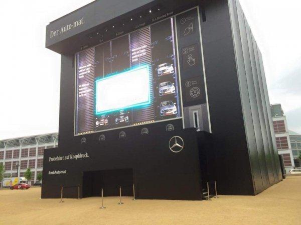 Mercedes Benz Shooting Brake Probefahrt in Frankfurt