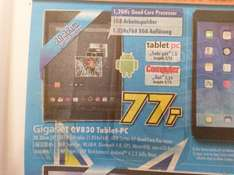 Gigaset QV830 Tablet! 8Zoll HD, QuadCore, GPS , Android für 77€ (Lokal?)