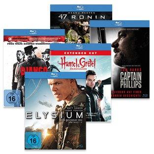 Real: Diverse Blu-rays für 6,66€ bei Kauf ab 3 Stück (z.B. Django Unchained)