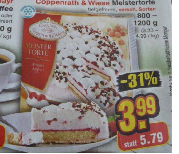 Netto ohne Hund Coppenrath & Wiese Meistertorte vers. Sorten für 3,99€