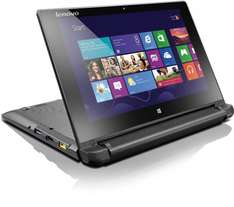 [Amazon WHD] Lenovo Flex 10 Convertible (Intel Celeron N2806, HD Display, 1,6GHz, 2GB RAM, 500GB HDD, Touchscreen, Win 8) schwarz für 183,63€