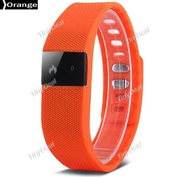 [Tinydeal] TW64 Smart Fitness Wristband Bluetooth 4.0 IP67 10,44 Eur incl. Versand