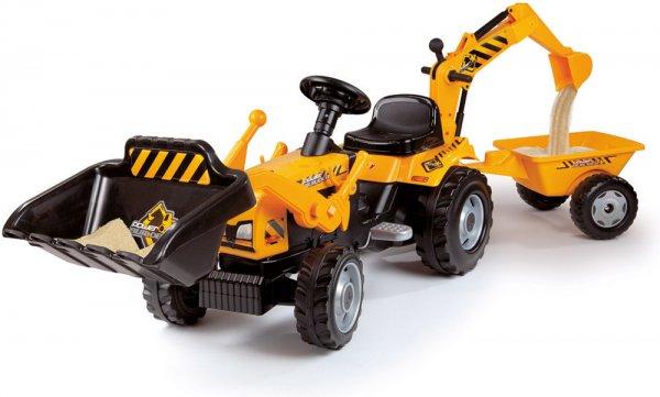 """[Windeln.de] Smoby Traktor """"Power Builder"""" mit Anhänger für 53,78€ incl.Versand!"""