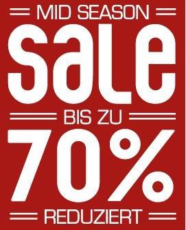 SNIPES Mid Season Sale, bis zu 70% reduziert