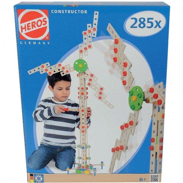 Heros Constructor-Set 285-tlg. mit 15 verschiedenen Modellen für 24,95 inkl. Versand @smdv.de
