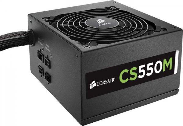 Corsair CS550M PC-Netzteil - 550W, 80 Plus Gold, teilmodular - 49,99€ @ ZackZack.de