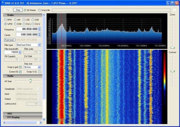 Funkscanner im Frequenzbereich von 24MHz bis 1.8GHz // DVB-T Stick