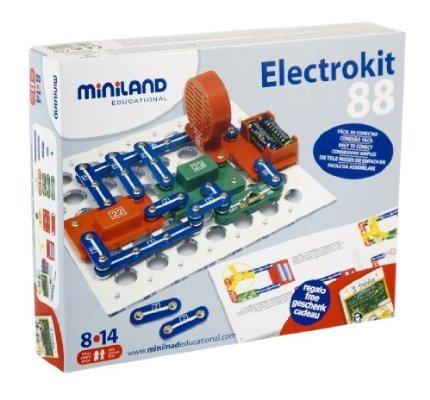 [Amazon Prime] Miniland 99101- Elektronische Schaltkreise 88 Übungen 14,30€