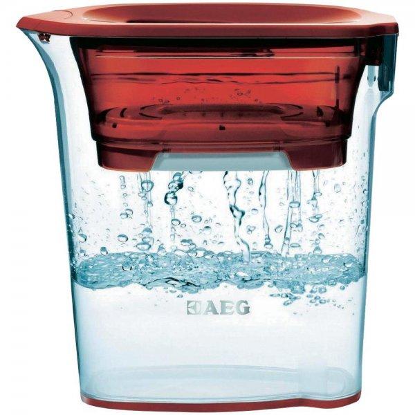 Wasserfilter AEG AquaSense AWF SJ3 9001666537 1200 ml Rot (transparent) für 5,09€ bei Abholung in der Filiale @conrad.de
