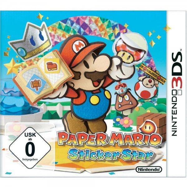 Paper Mario: Sticker Star [Nintendo 3DS] für 19,49 bei Abholung in einer Filiale @Conrad.de