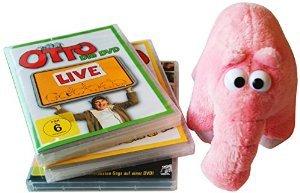 Otto - Die große Geschenkbox mit 3 DVD´s + Ottifant Plüschtier, @Amazon prime