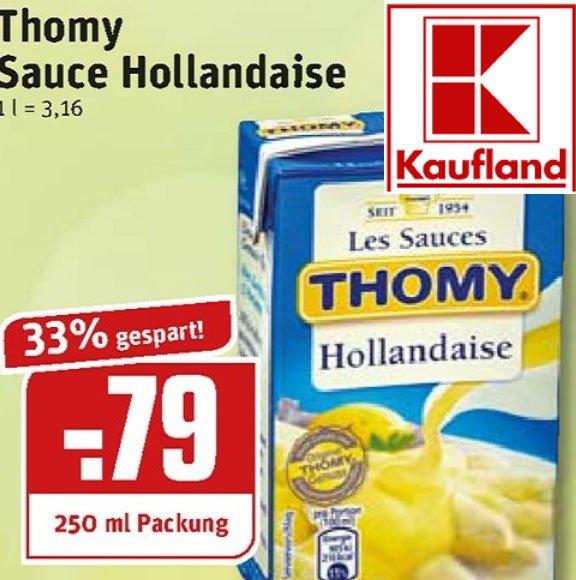 Über 70% sparen bei der THOMY Les Sauces Hollandaise dank Direkt-Rabatt [Kaufland, REWE/Ruhrgebiet, LIDL]