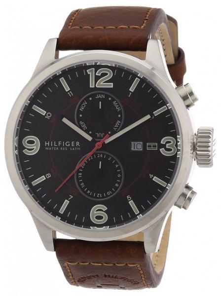 Tommy Hilfiger Watches Herren-Armbanduhr XL Analog Quarz Leder 1790892