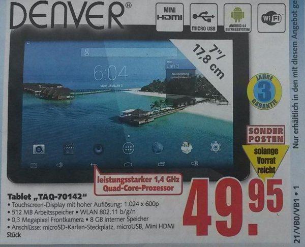 *OFFLINE* Denver TAQ-70142 (7 Zoll) für 49,95€ bei E-Center [LOKAL, neue Bundesländer und Berlin]