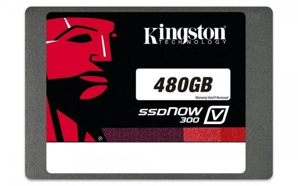 Kingston SV300S37A/480G interne SSD 480GB (6,4 cm (2,5 Zoll), SATA III) im Blitzangebot bei Amazon für 154,90€