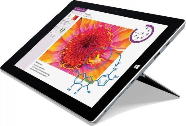 """Microsoft Surface 3 - Atom x7-Z8700, 64GB-Speicher, 10,8"""" mit 1920x1280 & Digitizer - 555€ @ Expert-Technomarkt"""