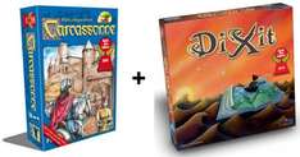 Carcassonne und Dixit (Spiel des Jahres 2001 und 2010) für 28,90 € bei Thalia.de (andere Gesellschaftsspiele ebenfalls sehr günstig)