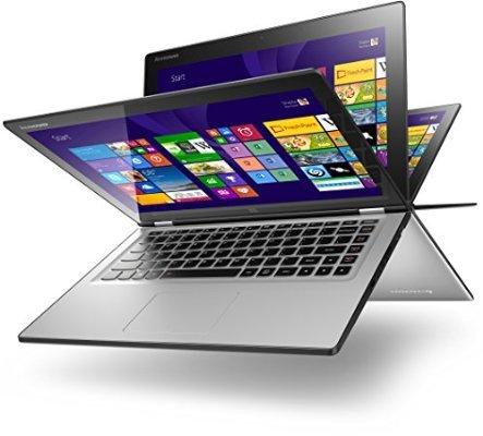[Amazon WHD] Lenovo Yoga 2 13 Silber I5 4200U 8GB 500GB Sehr gut