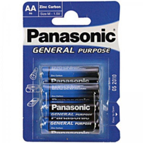 4  x Batterien AA Panasonic Batterie 1,5 V für 1 Euro @eBay
