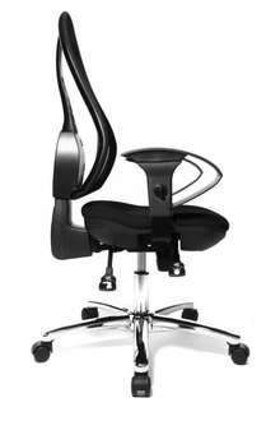 [STAPLES OFFLINE] Bürodrehstuhl Topstar Open Point SY Deluxe schwarz für 99,99€ anstatt UVP 199,99