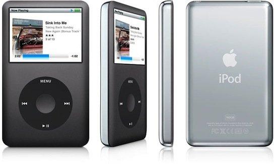 Apple iPod Classic  (schwarz) 160GB bei notebooksbilliger.de für 236,99€