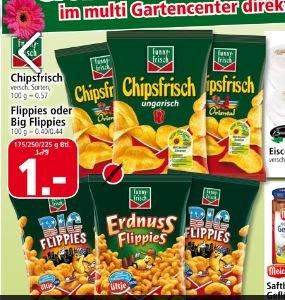 Offline (Lokal) Funny Frisch Chipsfrisch 175g 1€ @Multi Märkte Leer/Emden