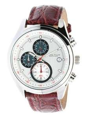 [amazon.de] James Tyler Herren Edelstahl-Chronograph mit Lederarmband für 48,99€ incl.Versand!