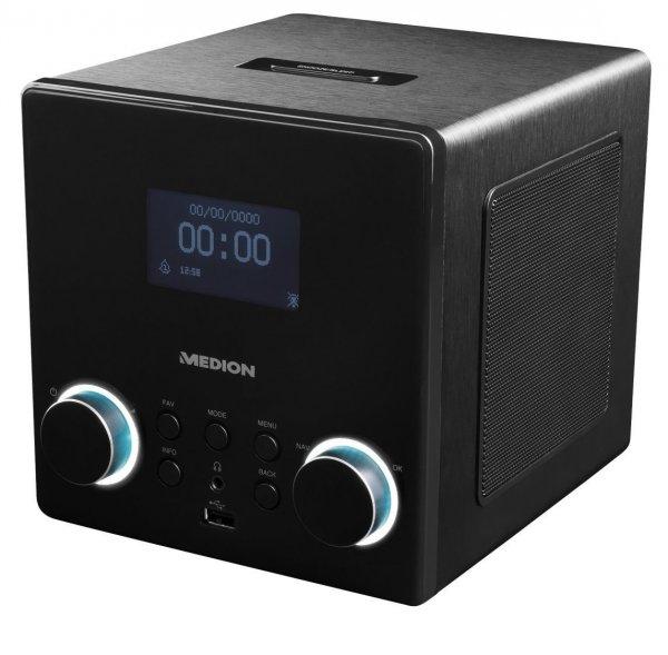 MEDION LIFE P85044 Internet Radio 2x5W USB 2,4 & 5 GHz für 69,99€