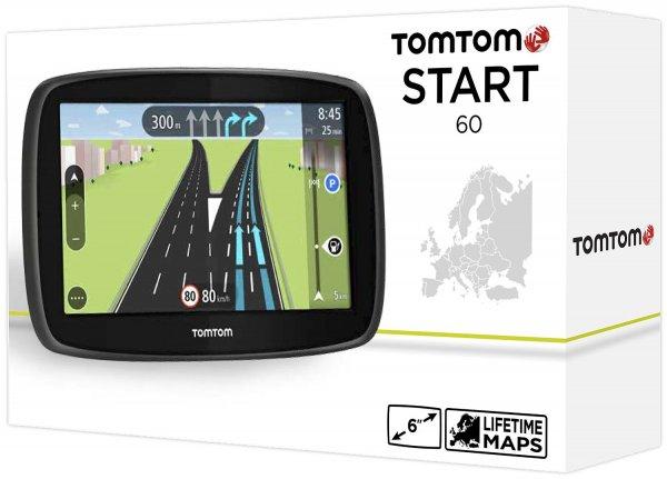 "TomTom Start 60 M 6""  Display Lifetime Maps Fahrspur&Parkassi,Tap&Go WOWDEAL Lebenslang Kartenupdates, auto. Display,19 Länder CE"