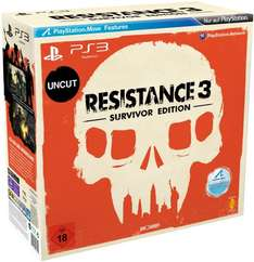 (Amazon.de) Resistance 3 - Survivor Edition PS3 47,72€
