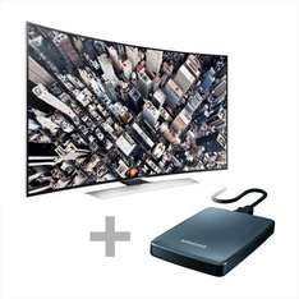 "Samsung UE-55HU8590 - 55"", UHD, 3D, Dual-Triple-Tuner, Curved - inkl. UHD-Filmpaket 500GB - 1749€ @ Comtech.de"