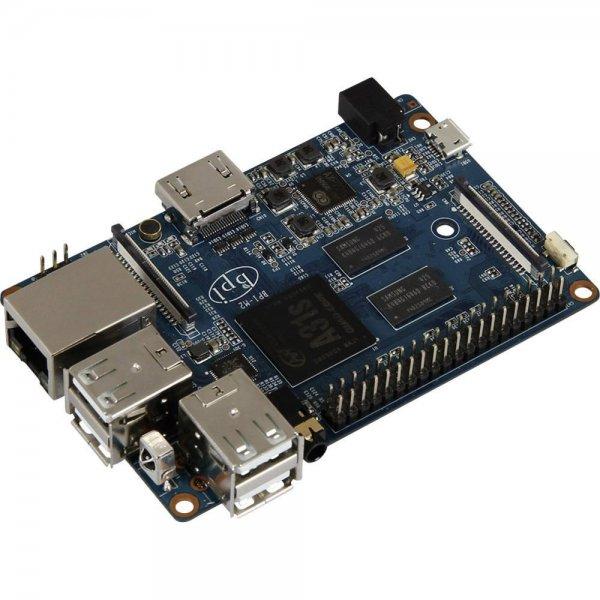 Banana Pi 2 - ARM Cortex A7 (4x 1.0 GHz) 1 GB DDR3, Wi-Fi für 43,66€  + 5 Fach Paybackpunkte (2,15€) @Conrad.de
