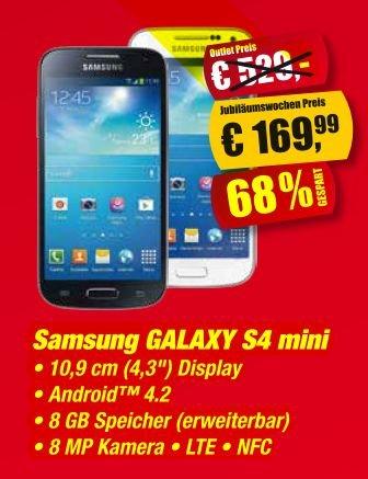 Samsung Galaxy S4 mini Medion Fabrikverkauf