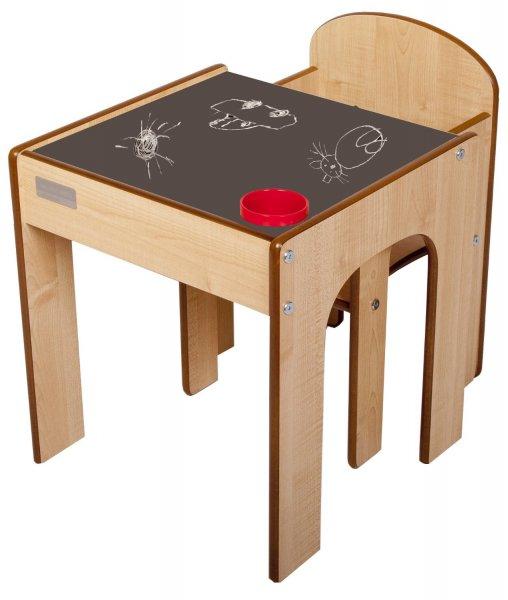 [Amazon] Little Helper Kleinkind Tisch und Stuhl Set mit Stiftehalter / Tisch  und 2 Stühle Set mit Stiftehalter
