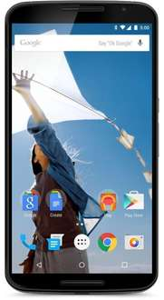 Motorola Nexus 6 Smartphone (15,2 cm (6 Zoll) Quad-HD-Display, 2x Frontlautsprecher, 2,7 GHz Quad-Core Snapdragon 805 Prozessor, 32GB interner Speicher, Android 5.0 Lollipop) weiß @Amazonblitz