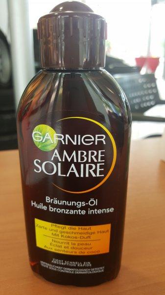 Wiesbaden regional? (Rossmann) Garnier Ambre Solaire Delial Tiefbraun Bräunungsöl (200 ml) 2,69